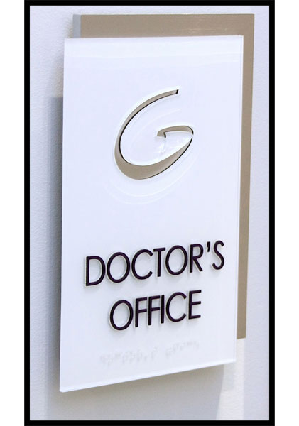 DOCTOR OFFICE SIGNS ***** PHYSICIAN SIGNS ***** DOCTOR SIGNAGE