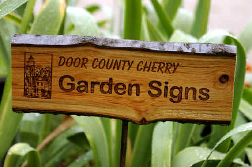 GARDEN SIGNS TRAIL SIGNS PARK SIGNS CAMP GROUND SIGNS